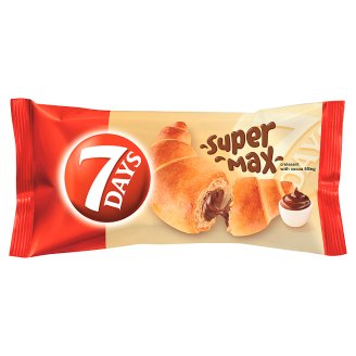 7DAYS Super Max Croissant with Cocoa Filling 110 g