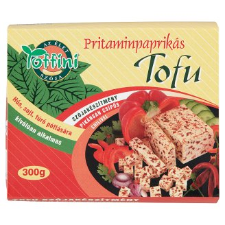 Toffini Tofu Soy Product with Pritamin Pepper 300 g