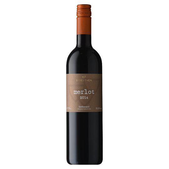 Sebestyén Merlot Dry Red Wine 13% 0,75 l