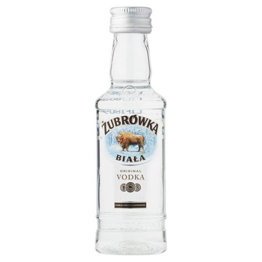 Zubrowka Biala Vodka 37,5% 0,05 l