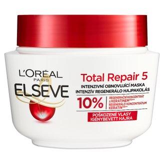 L'Oréal Paris Elseve Total Repair 5 intenzív, regeneráló hajpakolás 300 ml
