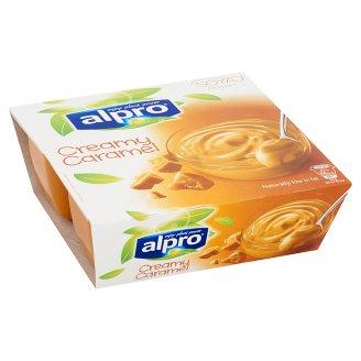 Alpro Soya Dessert, Caramel 4 x 125 g