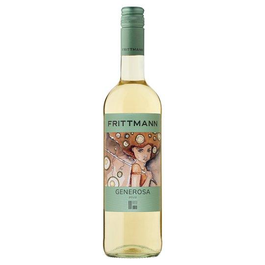 Frittmann Kunsági Generosa száraz fehérbor 12,5% 750 ml