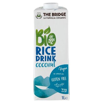 The Bridge Organic Coconut Rice Drink 1 l