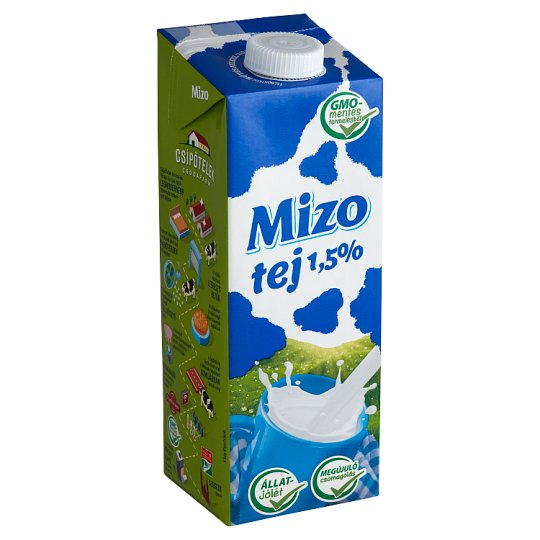 Mizo UHT Low-Fat Milk 1,5% 1 l