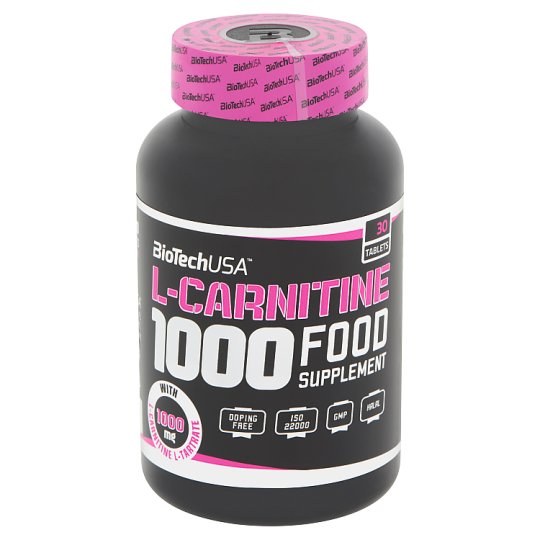 BioTechUSA L-Carnitine 1000 étrend-kiegészítő tabletta 30 db 60 g