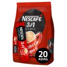 Nescafé 3in1 Classic Instant Coffee 20 pcs 340 g