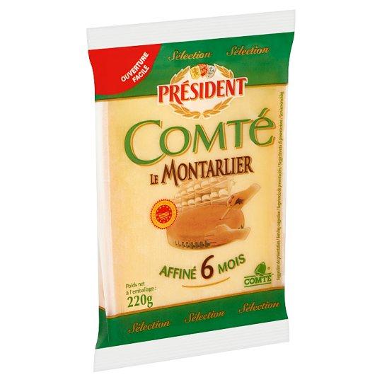 Président Comté zsíros, kemény sajt 220 g