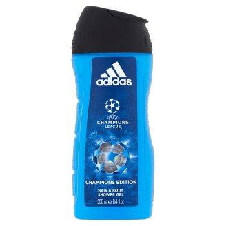 Adidas UEFA Champions League Champions Edition tusfürdő és sampon egyben férfiaknak 250 ml