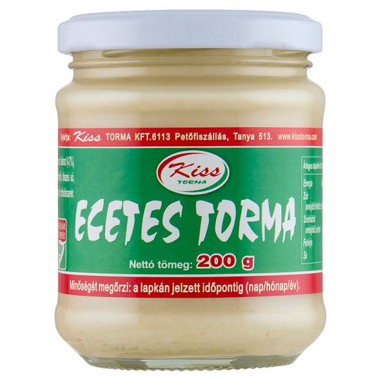 Kiss Torma Horseradish with Vinegar 200 g