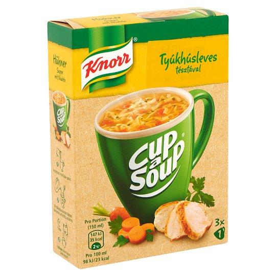 Knorr Cup a Soup tyúkhúsleves tésztával 3 x 9 g