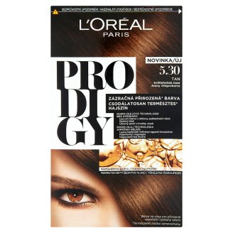 L'Oréal Paris Prodigy 5.30 Tan Golden Light Brown Permanent Hair Colorant