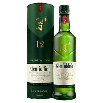 Glenfiddich díszdobozos skót whisky 40% 0,7 l
