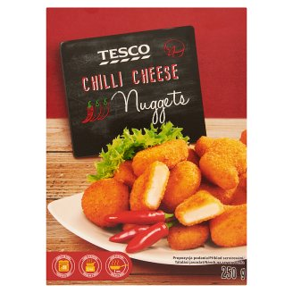 Tesco Quick-Frozen Breaded Nuggets with Edami Cheese and Jalapeño 250 g