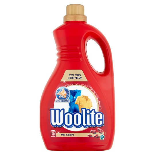 Woolite Mix Colors Color Liquid Detergent for Coloured Clothes 50 Washes 3 l