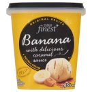 Tesco Finest Banana Ice Cream with Delicious Caramel Sauce 460 ml