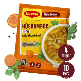 Maggi Meatball Soup With Spiral Pasta 62 g