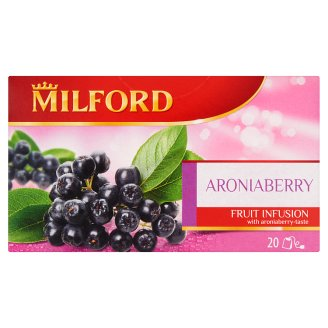 Milford Fruit Infusion Aroniaberry Flavoured Fruit Tea 20 Tea Bags 50 g