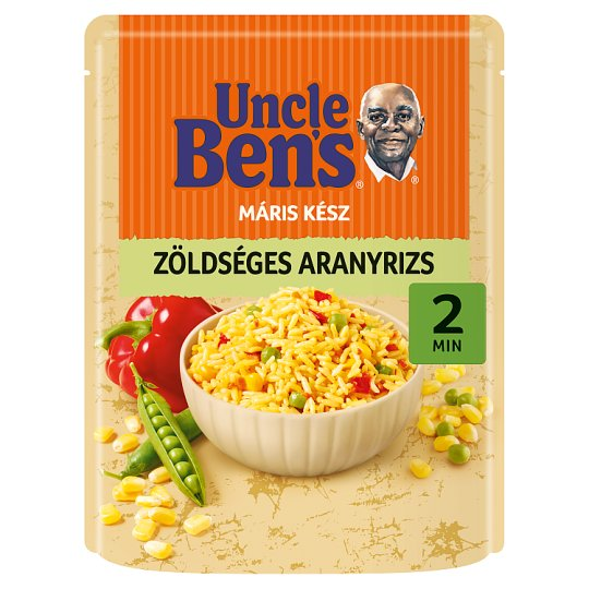Uncle Ben's Golden Rice with Vegetables 250 g