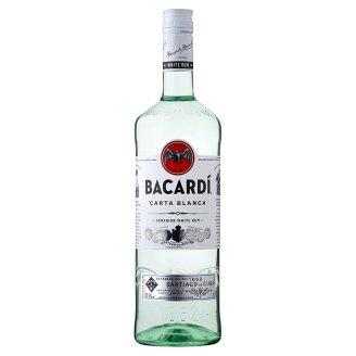 Bacardi Carta Blanca rum 37,5% 1 l