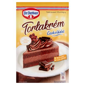 Dr Oetker Cake Decorations Tesco : Dr. Oetker Chocolate Cake Cream Powder 145 g - Tesco Groceries