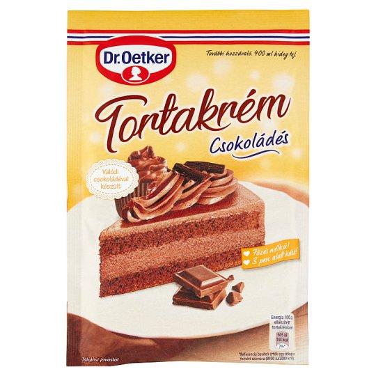 Dr. Oetker Chocolate Cake Cream Powder 145 g