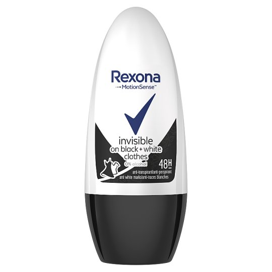 Rexona Invisible Black + White Anti-Perspirant 50 ml