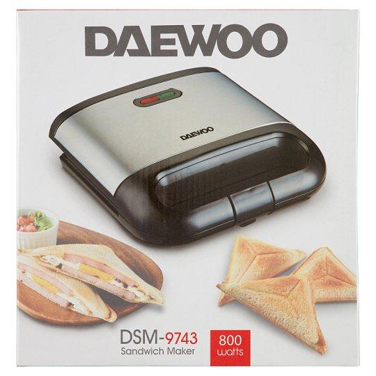 Daewoo DSM-9743 Sandwich Maker - Tesco Groceries