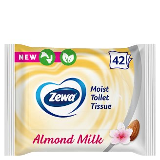 Zewa Almond Milk Moist Toilet Tissue 42 pcs