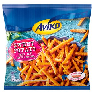 Aviko Pre-Fried, Quick-Frozen Sweet Potato Fries 450 g