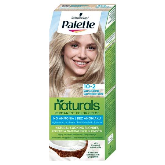 Schwarzkopf Palette Permanent Naturals Color Creme Hair Colorant 10-2 219 Super Bloomy Blonde (219)