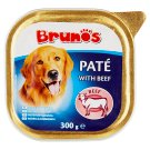 Brunos Paté with Beef Complete Pet Food for Adult Dogs 300 g
