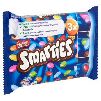 Smarties Milk Chocolate Dragées with Sugar Coating 3 pcs 114 g