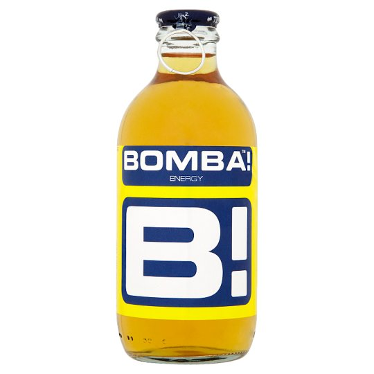 BOMBA! Tutti Frutti Flavoured Carbonated Drink with High Caffeine Content 250 ml