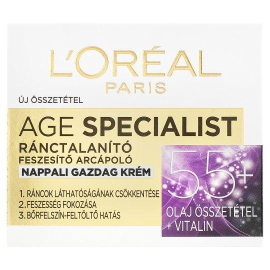 image 1 of L'Oréal Paris Age Specialist 55+ Anti-Wrinkle Rich Day Cream 50 ml