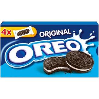 Oreo Original vanília ízű töltelékkel töltött kakaós keksz 176 g