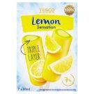 Tesco Lemon Sensation citromos vizes jégkrém, lime ízű jégkrém és lime ízű vizes jégkrém 7 db 420 ml