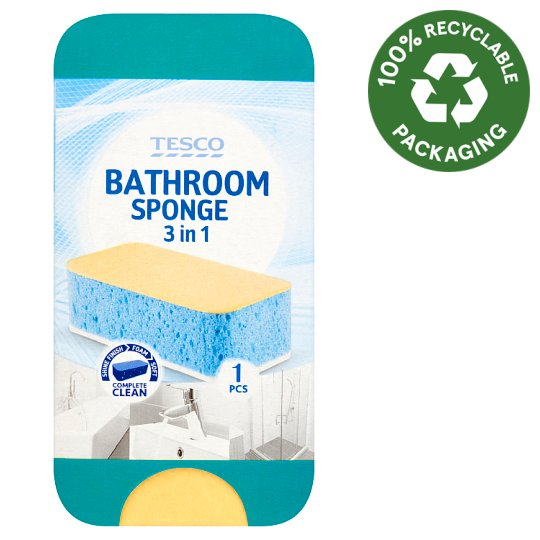 Tesco 3 az 1-ben fürdőszobai szivacs