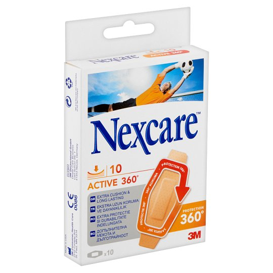 Nexcare Active 360° Plaster 10 pcs
