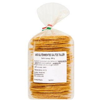 Andi Gluten-Free Wafer with Cheese 200 g