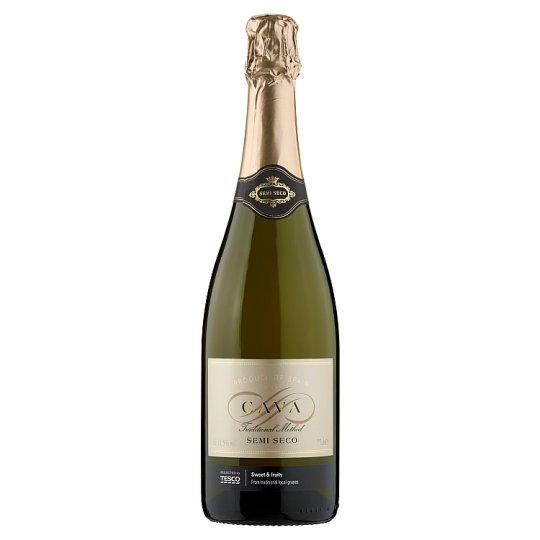 Tesco Cava félszáraz pezsgő 11,5% 75 cl