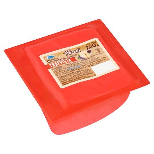 Kuntej Füredi darabolt félzsíros, félkemény trappista sajt 240 g