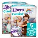 Libero Comfort 5 10-14 kg nadrágpelenka 2 x 50 db