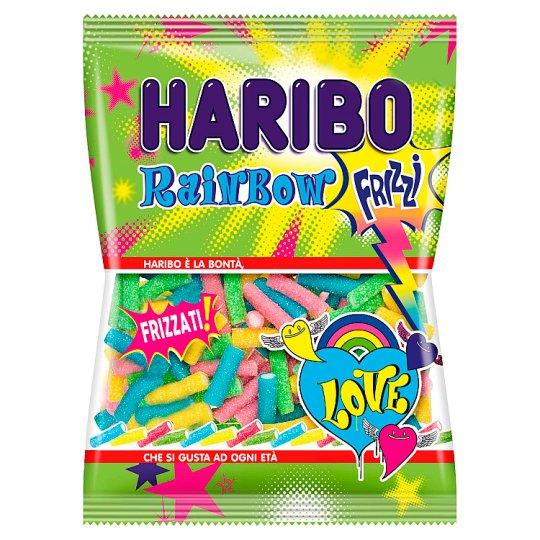 Haribo Rainbow Frizzi gyümölcsízű gumicukorka 90 g