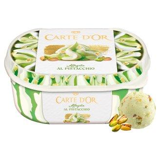 Carte D'Or Gelateria vanília-pisztácia ízű jégkrém pisztáciás szósszal, csokoládé darabkákkal 900 ml