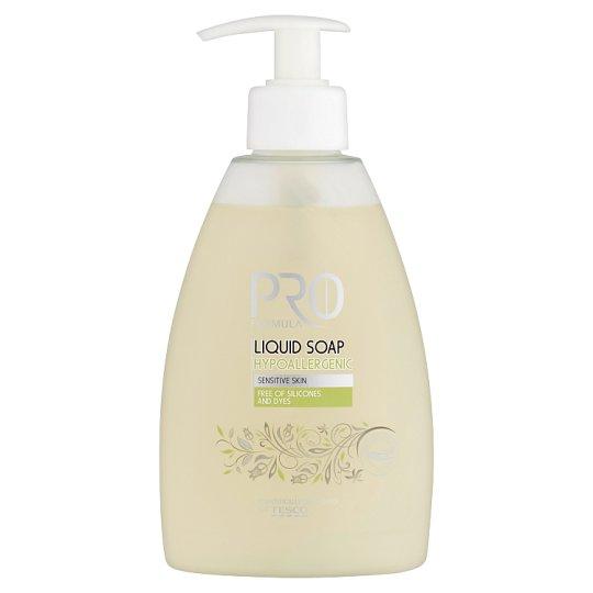 Tesco Pro Formula Hypoallergenic szappan árnika-kivonattal 300 ml