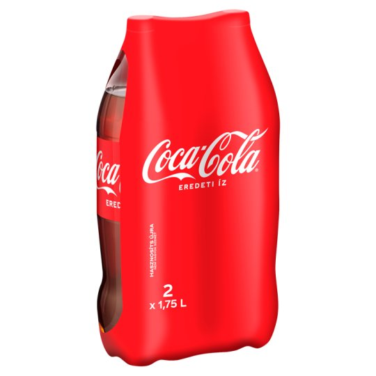 Coca-Cola Carbonated Soft Drink 2 x 1,75 l