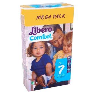 Libero Comfort 7 16-26 kg prémium pelenkanadrág 66 db