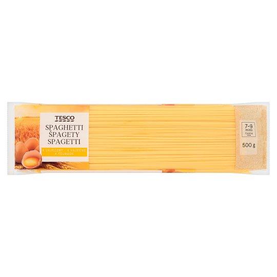 Tesco spagetti 4 tojásos száraztészta 500 g