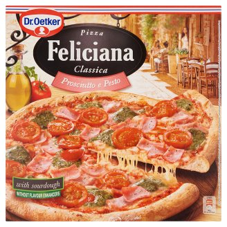 Dr. Oetker Feliciana Quick-Frozen Pizza with Ham and Pesto 360 g